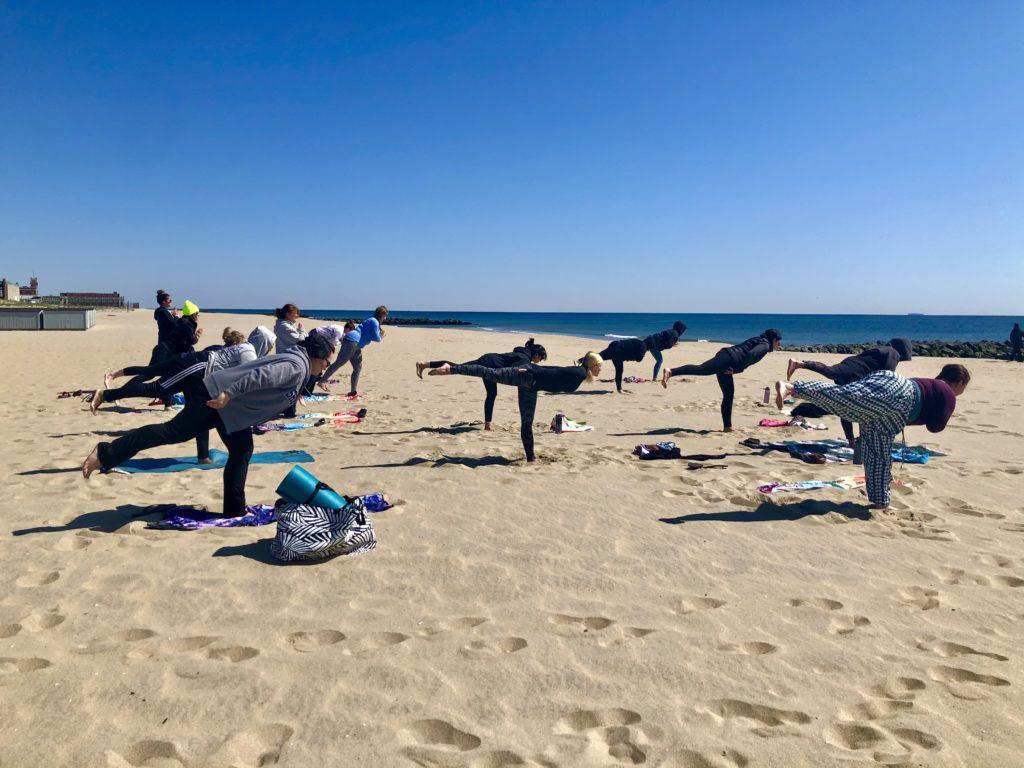 Amethyst Yoga Beach Yoga