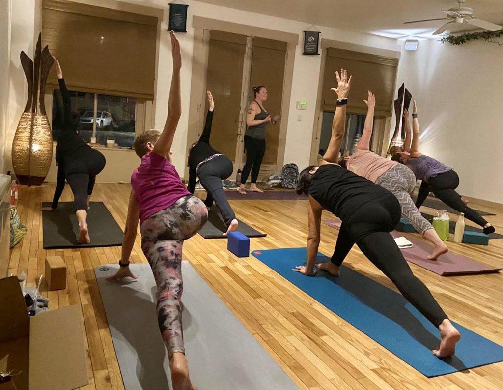 Amethyst Yoga Group Classes